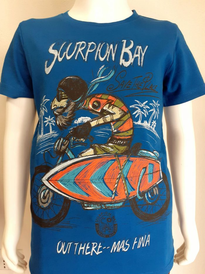 T-shirt Scorpion Bay Bambino/a colore Blue Art. JTE3975